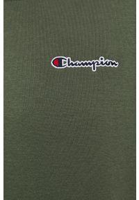 Champion - Bluza. Okazja: na co dzień. Kolor: zielony. Materiał: bawełna, dzianina. Styl: casual