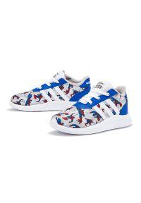 Sneakersy Adidas na sznurówki, na co dzień