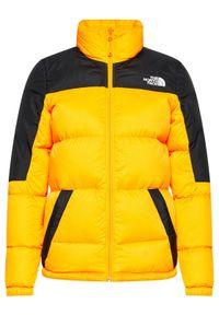 Żółta kurtka puchowa The North Face