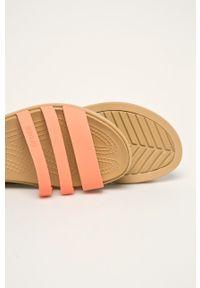Pomarańczowe sandały Crocs