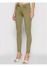 Guess Jeansy Curve X W1GAJ2 W77RE Zielony Skinny Fit. Kolor: zielony