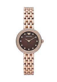 Emporio Armani - Zegarek AR11418. Kolor: złoty. Materiał: materiał