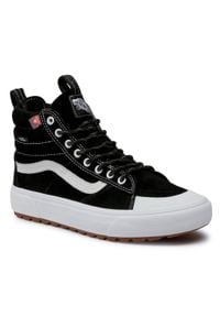 Vans - Sneakersy VANS - Sk8-Hi Mte 2.0 Dx VN0A4P3IDX61 (Mte) Black/True White. Kolor: czarny. Materiał: zamsz, skóra. Szerokość cholewki: normalna. Model: Vans SK8