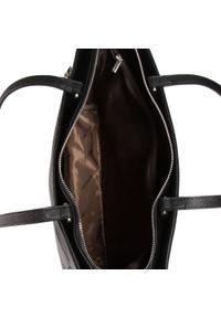 Wittchen - Torebka WITTCHEN - 91-4-702-1 Czarny. Kolor: czarny. Materiał: skórzane. Styl: klasyczny. Rodzaj torebki: na ramię