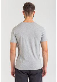T-shirt Trussardi Jeans z okrągłym kołnierzem, casualowy, w kolorowe wzory, na co dzień