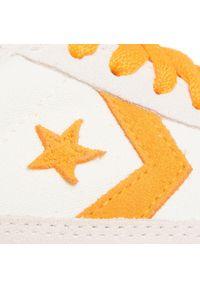Beżowe buty sportowe Converse na co dzień, z cholewką
