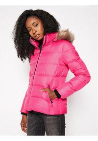 Różowa kurtka zimowa Calvin Klein