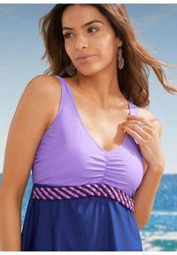 Sukienka kąpielowa shape Level 1 bonprix lila-niebieski. Kolor: fioletowy