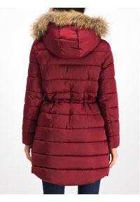 Czerwona kurtka zimowa Trussardi Jeans