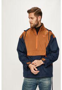 Niebieska kurtka Reebok Classic krótka, z kapturem