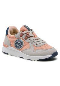 Big-Star - Sneakersy BIG STAR - HH374180 Hell Orange. Kolor: pomarańczowy. Materiał: skóra, materiał. Szerokość cholewki: normalna