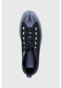 Converse - Trampki. Nosek buta: okrągły. Zapięcie: sznurówki. Kolor: czarny. Szerokość cholewki: normalna