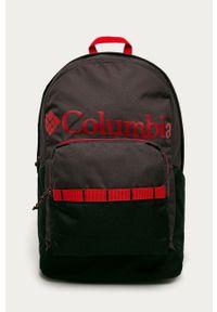 Fioletowy plecak columbia z nadrukiem
