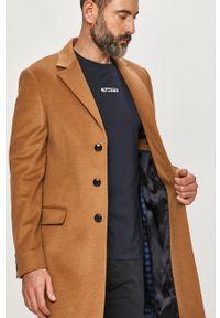 Płaszcz Tommy Hilfiger Tailored casualowy, bez kaptura, na co dzień