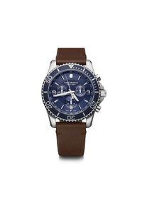 Niebieski zegarek VICTORINOX sportowy