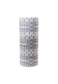 Bagheera - Komin BAGHEERA - 85961-16 C0308 Grey/White. Kolor: szary, biały, wielokolorowy. Materiał: poliester, materiał