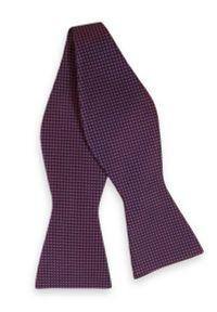 Fioletowa muszka EM Men's Accessories elegancka