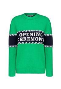 Opening Ceremony - Sweter OPENING CEREMONY. Materiał: dzianina. Wzór: aplikacja