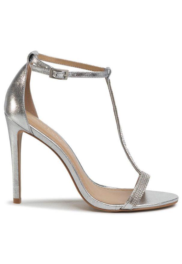 Srebrne sandały Eva Longoria