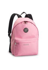 Różowy plecak Plein Sport sportowy