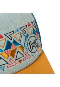 Buff - Czapka z daszkiem BUFF - Trucker Cap Ladji 122597.555.10.00 Multi. Kolor: niebieski. Materiał: materiał, bawełna