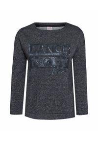 Czarna bluza Deha sportowa, z napisami
