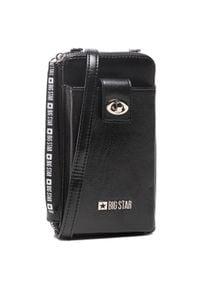 Big-Star - Torebka BIG STAR - GG674006 Black. Kolor: czarny. Materiał: skórzane. Styl: elegancki. Rodzaj torebki: na ramię