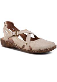Beżowe sandały Josef Seibel