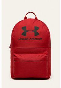 Under Armour - Plecak. Kolor: czerwony
