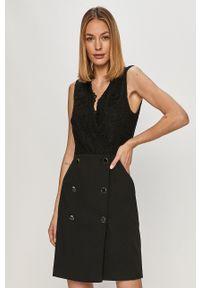 Morgan - Sukienka. Kolor: czarny. Typ sukienki: dopasowane