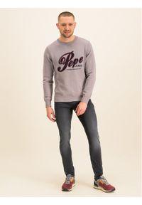 Pepe Jeans Jeansy Skinny Fit Nickel Infused PM205148 Granatowy Skinny Fit. Kolor: niebieski #4
