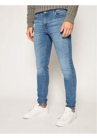 Lee Jeansy Skinny Fit Malone L736LSGG Niebieski Skinny Fit. Kolor: niebieski. Materiał: jeans