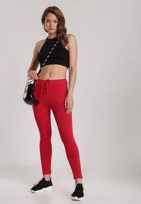 Czerwone spodnie dresowe Renee