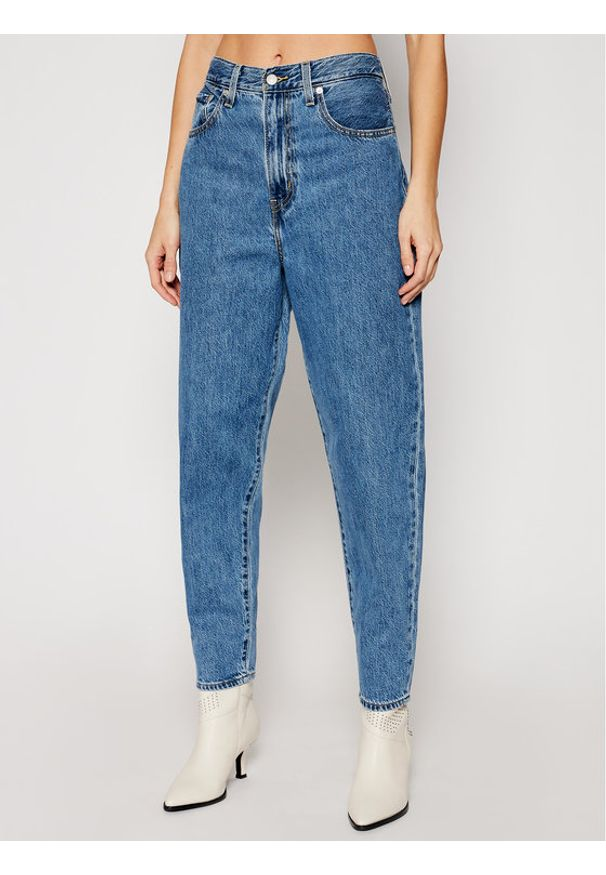 Levi's® Jeansy High Loose Taper 17847-0004 Niebieski Relaxed Fit. Kolor: niebieski