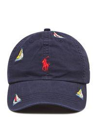 Polo Ralph Lauren - Czapka z daszkiem POLO RALPH LAUREN - Classic Sport Cap 710834744001 Navy. Kolor: niebieski. Materiał: materiał, bawełna, elastan. Styl: sportowy