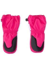 Reima - Rękawiczki dziecięce REIMA - Tepas 517203 Pink 4650. Kolor: różowy. Materiał: poliester, materiał