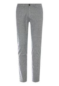 Baldessarini Spodnie materiałowe Jorck 16836/000/2297 Szary Slim Fit. Kolor: szary. Materiał: elastan, bawełna, materiał #3