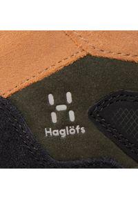 Haglöfs - Trekkingi HAGLÖFS - Skuta Mid Proof Eco Men 498080 Oak/Deep Woods. Kolor: zielony. Materiał: skóra, zamsz, materiał. Sport: turystyka piesza #4