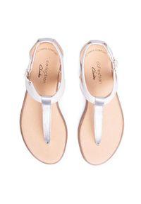Białe sandały Clarks