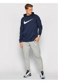 Nike Bluza Dri-Fit Swoosh CZ2425 Granatowy Standard Fit. Kolor: niebieski