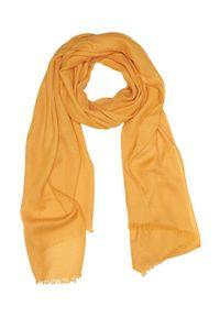 Żółty szalik Cellbes w kolorowe wzory
