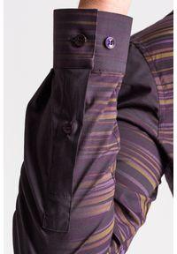 Koszula Versace Collection biznesowa, na spotkanie biznesowe, na lato