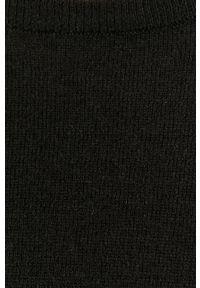 Czarny sweter medicine melanż, długi