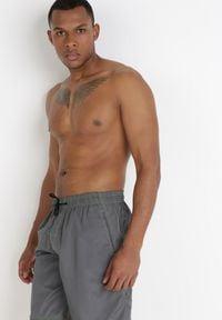 Born2be - Szare Szorty Dresowe Thosiphe. Kolor: szary. Materiał: dresówka