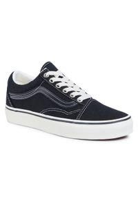 Czarne buty sportowe z cholewką, Vans Old Skool