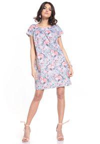 Sukienka Tessita mini, w kwiaty