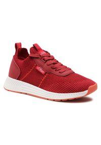 s.Oliver - Sneakersy S.OLIVER - 5-13603-26 Red 500. Okazja: na co dzień. Kolor: czerwony. Materiał: materiał. Szerokość cholewki: normalna. Styl: casual, klasyczny