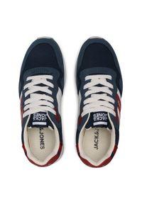 Jack & Jones - Jack&Jones Sneakersy Jrstellar 12170619 Granatowy. Kolor: niebieski