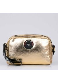 Złota torebka Monnari