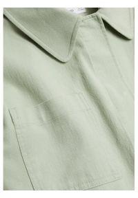 mango - Mango Kurtka przejściowa Spring 87095671 Zielony Regular Fit. Kolor: zielony